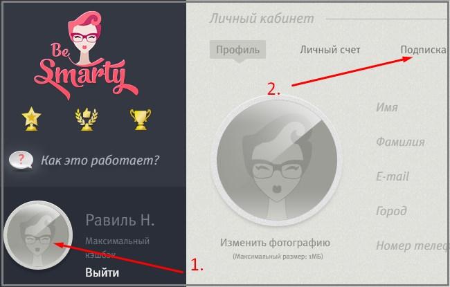 Besmarty ru отключить подписку технологии экономящие время